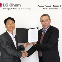 Lucid Motors firma un acuerdo con LG para convertirse en suministrador de baterías, justo después de hacerlo con Samsung SDI