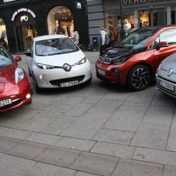En enero las ventas de coches eléctricos e híbridos enchufables rozan el 40% de cuota de mercado en Noruega
