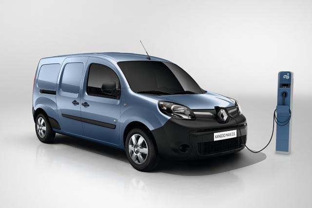 Renault Kangoo ZE 40 kWh batería
