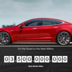 Los Tesla alcanzan los 3.500 millones de millas de cero emisiones