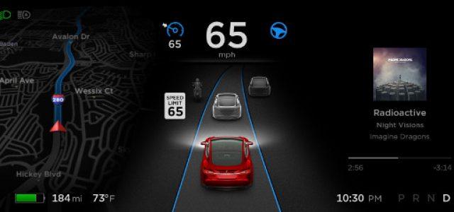 Tesla lanza una importante actualización del Autopilot 2.0, que le permite igualar a la primera generación