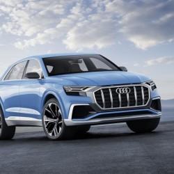 Audi Q8 Concept. Un híbrido enchufable con hasta 60 kilómetros de autonomía en modo eléctrico