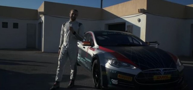 Dani Clos ya ha probado el Tesla Model S Electric GT y estas son sus sensaciones