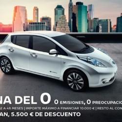 Nissan adelanta el Plan MOVEA. Del 23 al 28 de enero 5.500 euros de descuento en la compra de coches eléctricos