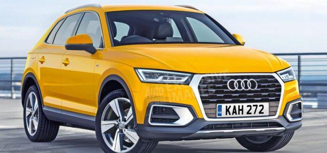 El Audi Q3 se renovará en 2018. Podría recibir una versión híbrida enchufable y otra eléctrica