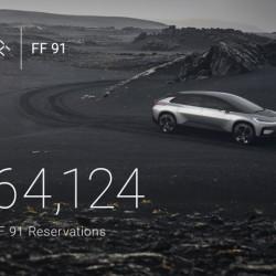 El Faraday Future FF91 ya tiene más de 64.000 reservas en apenas 36 horas