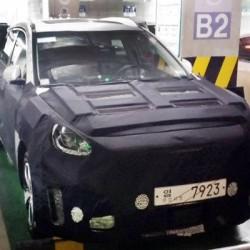 Primera foto del todocamino eléctrico de Hyundai. 64 kWh y 320 kilómetros de autonomía real
