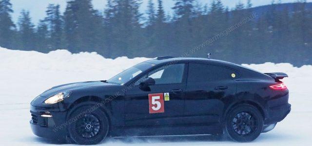 El Porsche Cayenne Coupe tendrá una versión eléctrica o híbrida enchufable