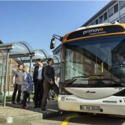 La tecnología Bombardier Primove de recarga de autobuses eléctricos, ya ha ahorrado 527 toneladas de CO2