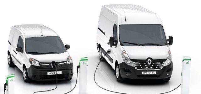 Renault presenta la nueva Kangoo ZE, y añade a la oferta la Master ZE