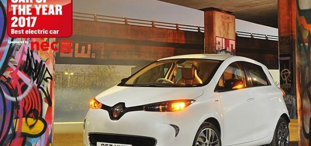 Renault ZOE ZE 40. Nombrado coche eléctrico del año en Reino Unido en su segmento