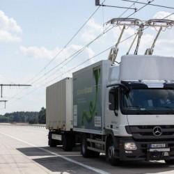 Alemania probará las catenarias para camiones eléctricos en las Autobahn