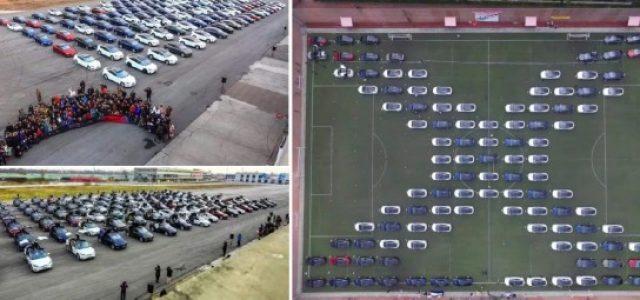 Record Guinness de una reunión de usuarios del Tesla Model S y X en China