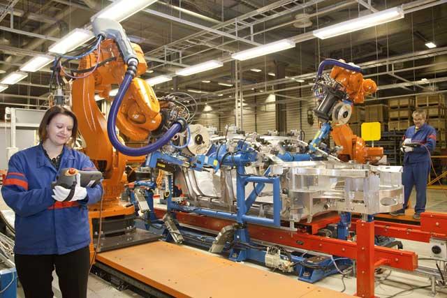 Valmet Automotive factory