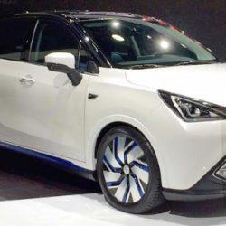 GAC GE3. Un crossover chino con batería de 47 kWh que se presentará en Nueva York