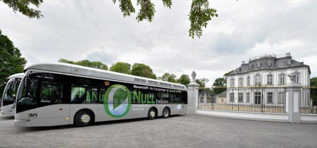 Colonia lanza el mayor proyecto de autobuses a hidrógeno en Europa