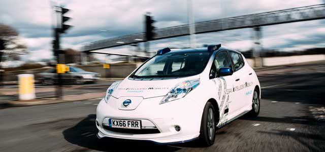 Nissan comienza las pruebas en Europa de su sistema de conducción autónoma