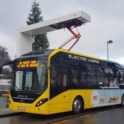 Volvo recibe un pedido de 90 unidades de su autobús híbrido enchufable en Bélgica
