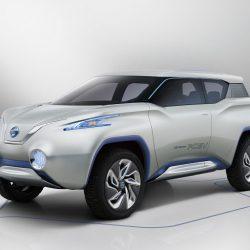 Nissan TeRRA. Después del LEAF llegará al mercado un todocamino eléctrico