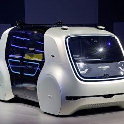 Volkswagen Sedric. El taxi del futuro será eléctrico y autónomo