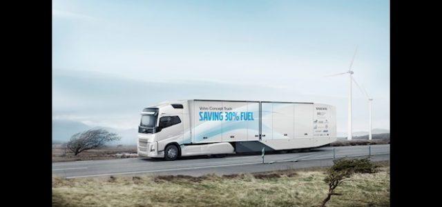 Volvo pone a prueba su Camión híbrido de larga distancia