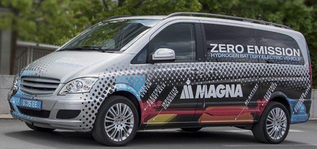 Magna desarrolla un eléctrico con extensor de autonomía a hidrógeno