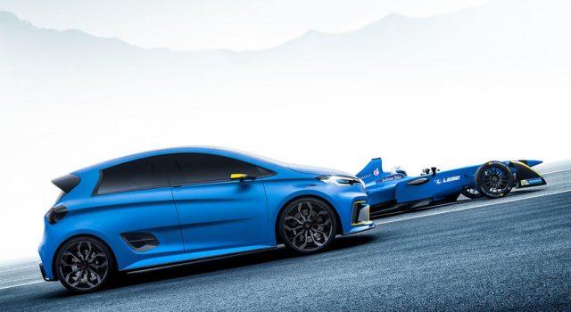 El Renault ZOE ZE eSport, capaz de acelerar más rápido que un Fórmula E