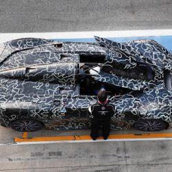 Avistado durante unas pruebas en Monza el superdeportivo eléctrico de Techrules