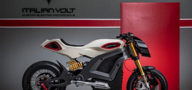 Italian Volt Lacama, nueva moto eléctrica de alto rendimiento venida de Italia