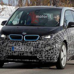 Avistado el nuevo BMW i3s. Potencia de 149 kW (203CV) aceleración hasta los 100 en menos de 7 segundos y nueva batería