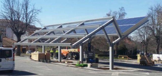 Arranca la construcción de la electrolinera de la Granja de San Ildefonso, Segovia. Puntos de recarga rápida y acelerada con energía 100% renovable