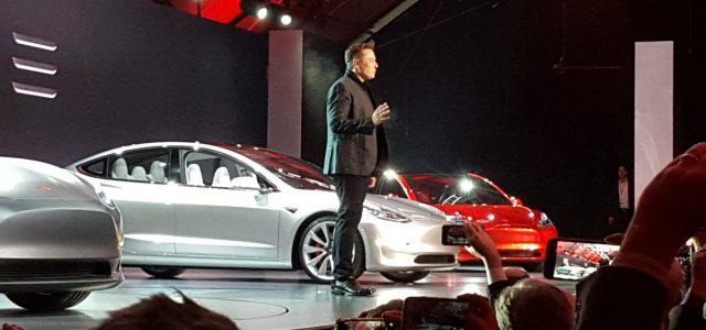 Opinión. Tesla si lanzará una versión de más de 75 kWh del Model 3