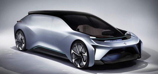 NextEV presenta el NIO EVE. Una berlina eléctrica y totalmente autónoma que llegará en 2020