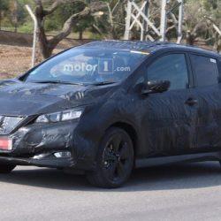 Avistado el nuevo Nissan LEAF. Diseño más convencional e integración en la imagen de la marca