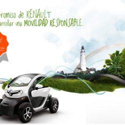5ª edición de los Premios a la mejor práctica en movilidad sostenible de Renault. Llévate de premio un ZOE ZE 40 un año a casa