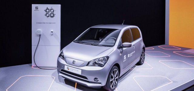 El SEAT Mii eléctrico se presenta en Barcelona. Objetivo, estudiar las nuevas formas de movilidad como el car sharing