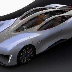 Techrules Ren. El primer coche eléctrico con una turbina diésel como extensor de autonomía