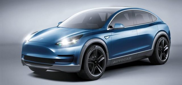 Este render nos permite ver como podría ser el Tesla Model Y