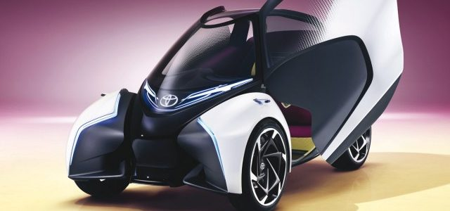 Toyota presenta el i-TRIL Concept en el Salón de Ginebra