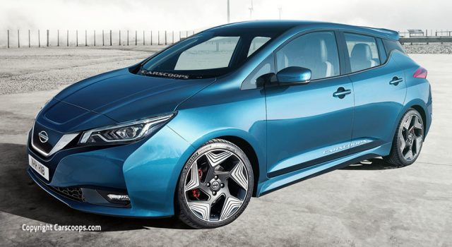 Nissan certifica su compromiso con el coche eléctrico. Gráfico de la evolución de la autonomía del LEAF, con 550 kms en 2020