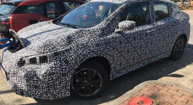 Más fotos de la nueva generación del Nissan LEAF avistado en Alemania. Batería de 40 kWh y de 60 kWh