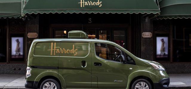 Harrods adquiere la Nissan e-NV200 en su flota de reparto a domicilio