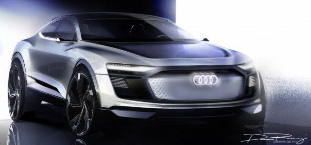 Audi e-tron Sportback. Un espectacular todocamino eléctrico que será presentado en Shanghái