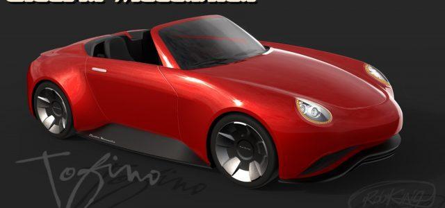 Se presenta el Roadster eléctrico de Electra Meccanica Toffino en el salón del automóvil del automóvil de Vancouver