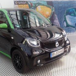 Prueba del nuevo Smart Forfour electrico