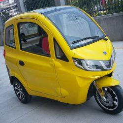 ZEV T3-1. Una microfurgoneta eléctrica con 80 kms de autonomía y un precio de apenas 5.000 euros