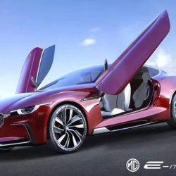 MG E-Motion. Un nuevo eléctrico que llegará en 2019 con un diseño muy interesante
