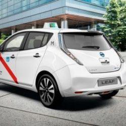 A partir del 1 de enero de 2018 todos los nuevos taxis de Madrid tendrán que ser ECO o Cero Emisiones