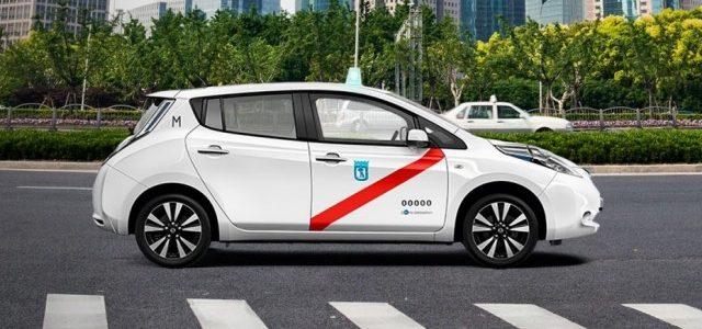 La Comunidad de Madrid incrementa hasta los 8.000 euros las ayudas para la compra de taxis eléctricos