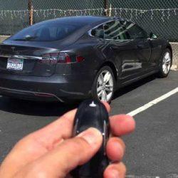 """Probando el modo """"Convocado"""" en el Tesla Model S dotado de Autopilot 2.0 y la actualización 8.1"""